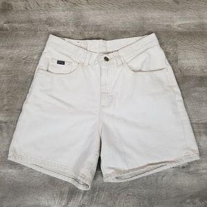 Vintage Shorts - Vintage Lee high rise mom jean shorts.
